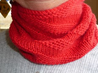 diagonal rib cowl for beginners