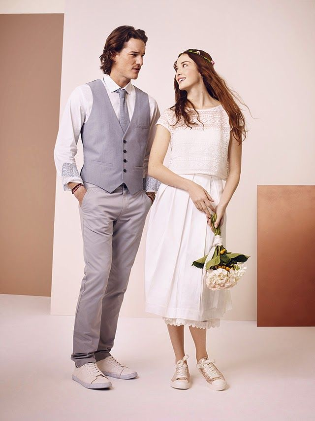 mariee en basket chaussures mariage