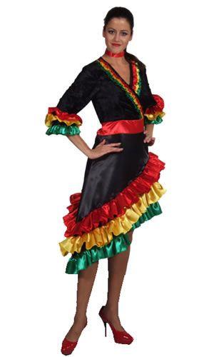 049d36490 Image result for cuban dress Brazil Costume, Cuban Dress, Dance Costumes  Kids, Carmen