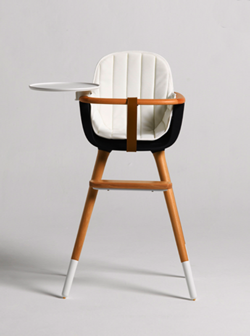 Mid Century Modern Ovo High Chair by Micuna Modern baby