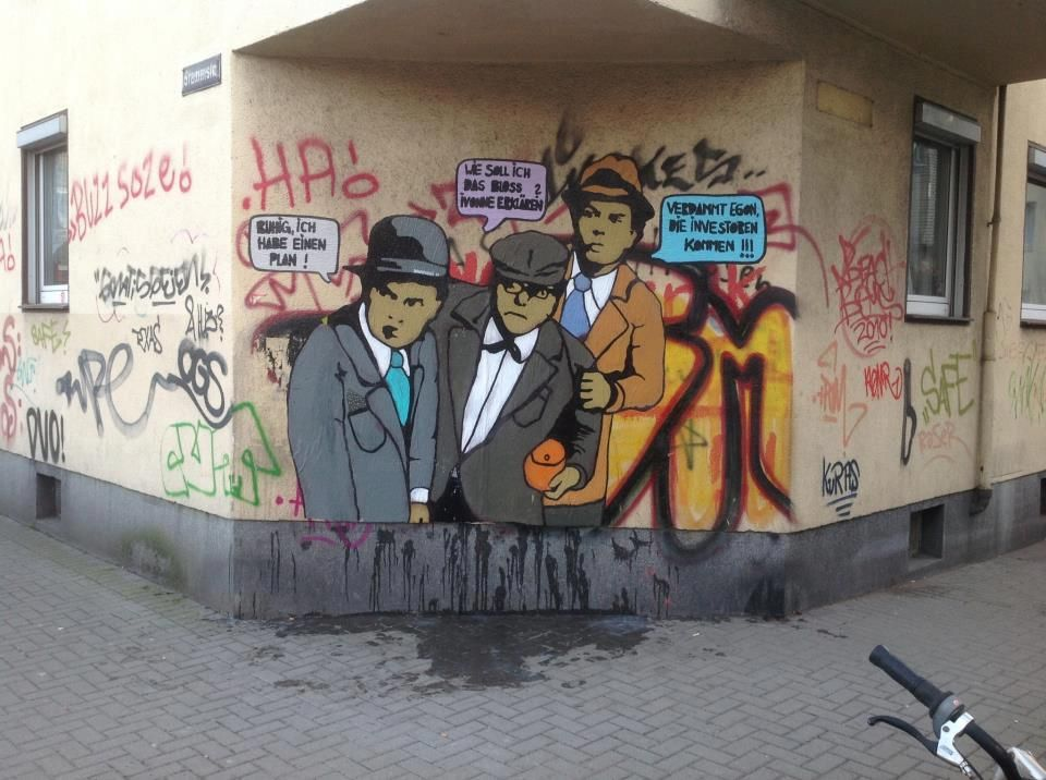 #streetart #olsenbande #olsengang