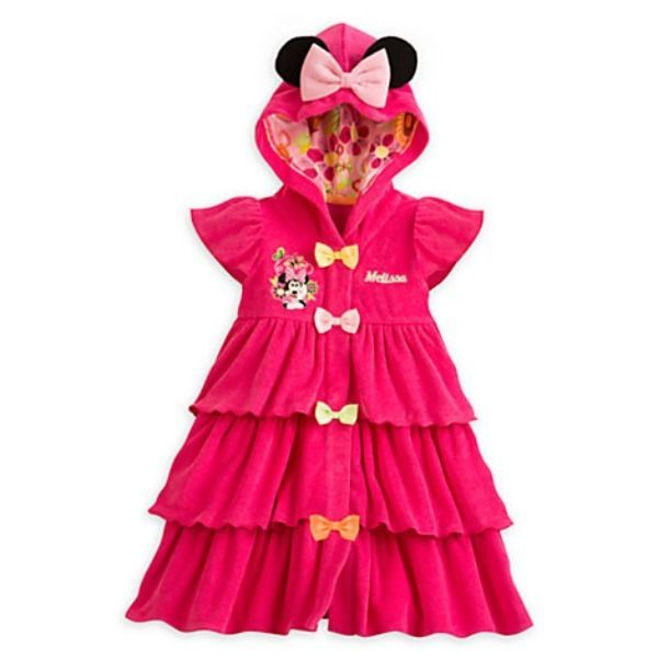 abf2f66986 Disney Store Little Girls' Minnie Mouse Pink Swim Cover Up Size 3T # DisneyStore #CoverUp