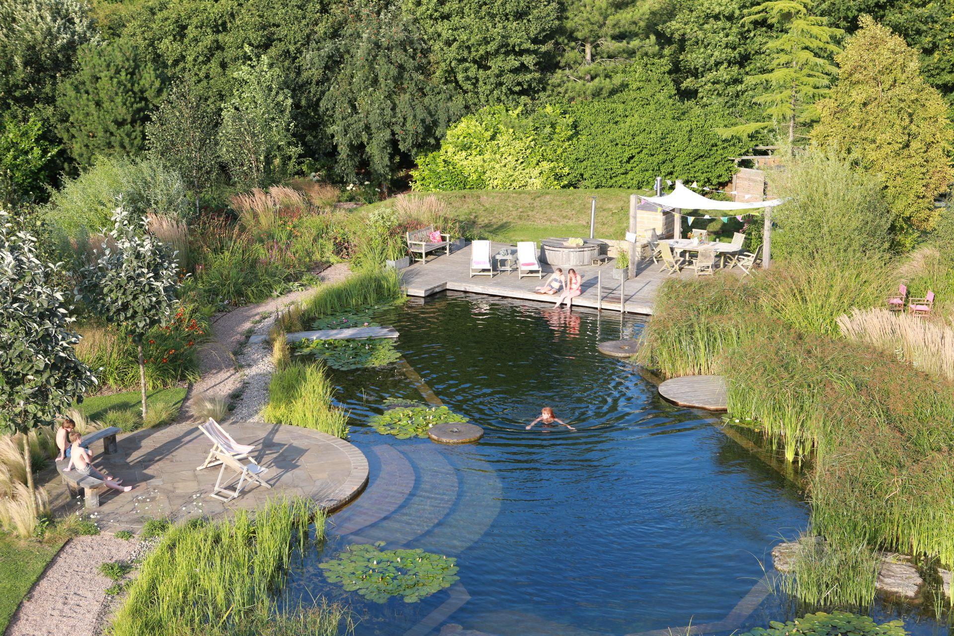 Ellicar gardens natural pool crystal clear all year