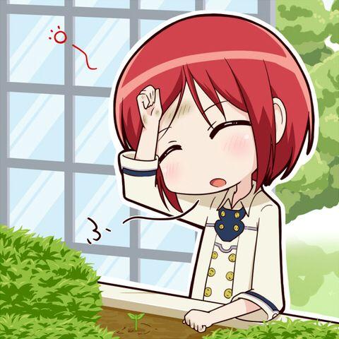 Akagami No Shirayukihime Snow White With The Red Hair Anime And Manga Chibi Shirayuki Snow White With The Red Hair Anime Snow White
