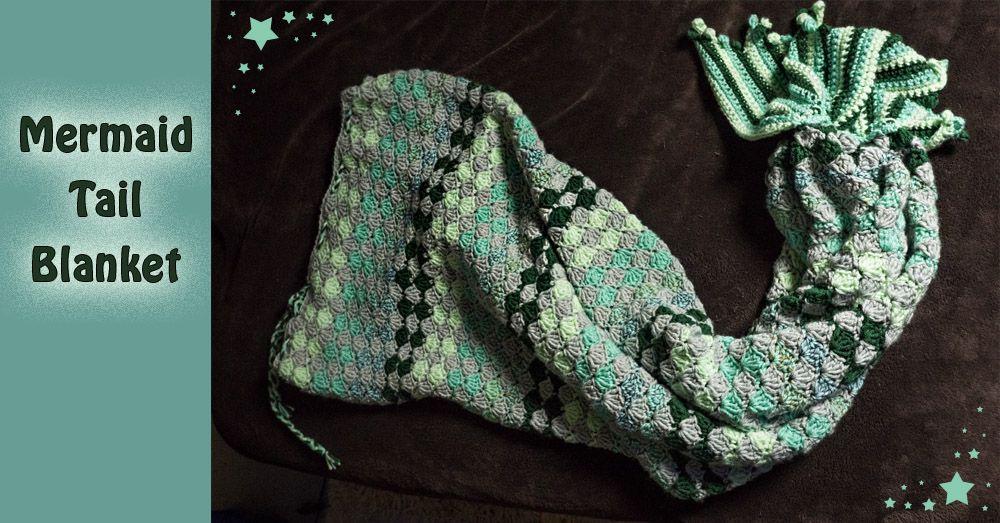 Free Crochet Mermaid Tail Tutorial And Pattern!