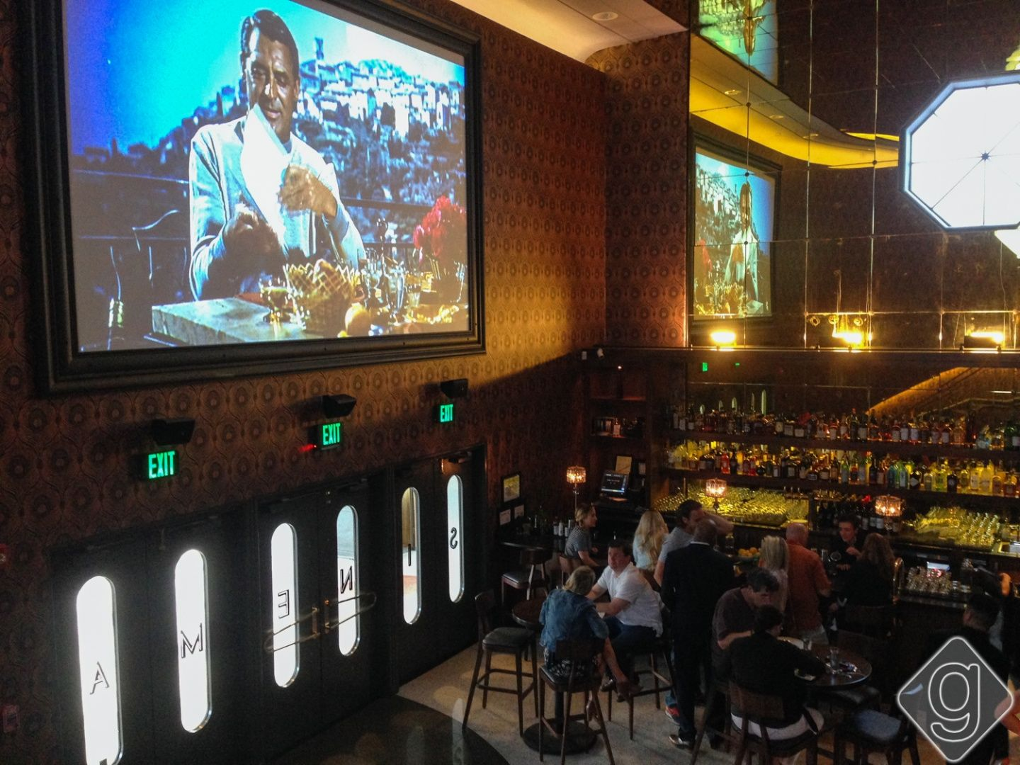 Sinema Is The Newest Fine Dining Restaurant And Bar Creating A Huge Buzz In Nashville Situated Where Historic 1940 S Melrose Theater Us