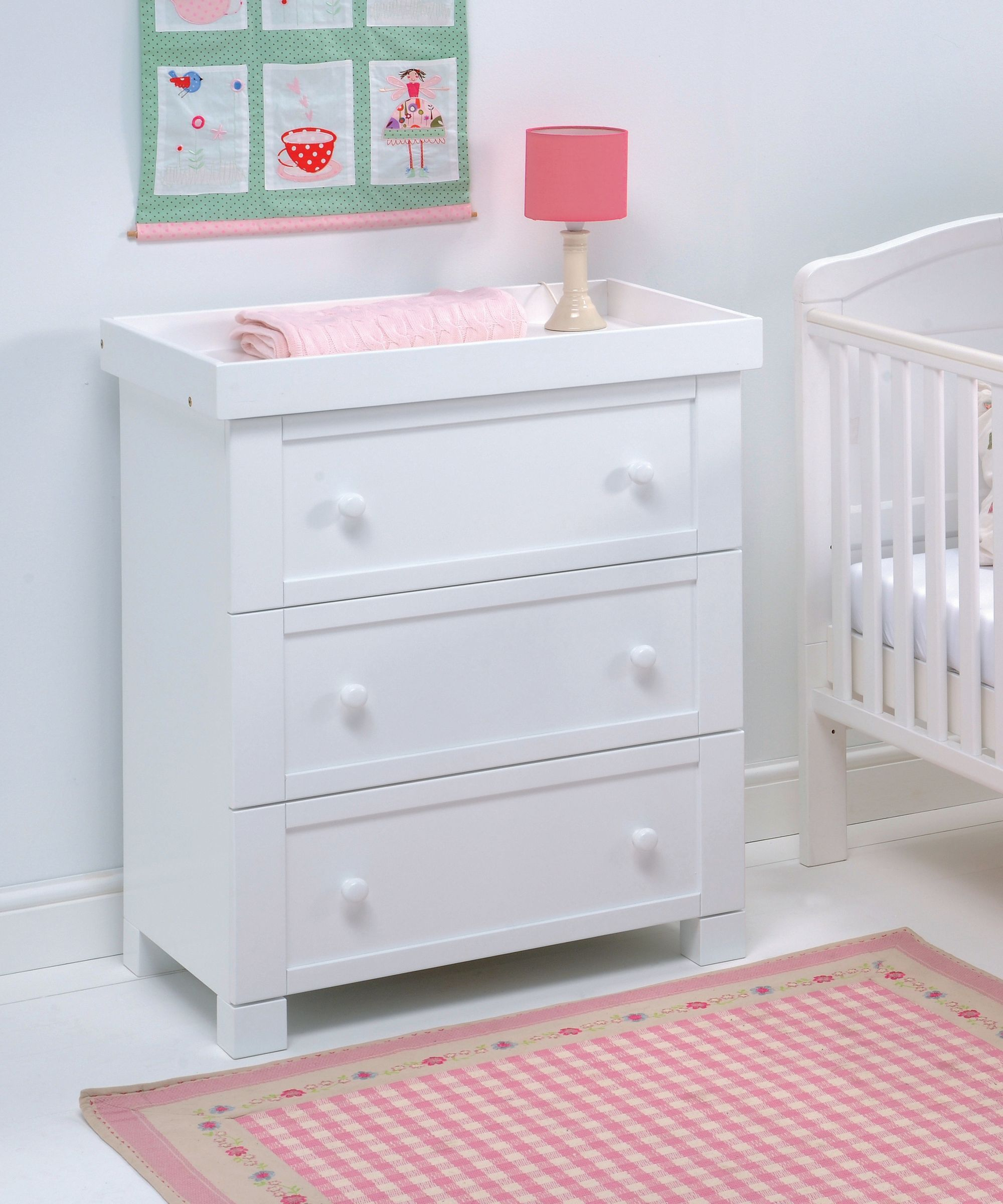 East Coast Nursery Montreal Dresser White