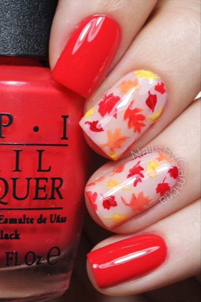 30 Pinterest Nails Ideas You Will Like | Fall manicure and Manicure