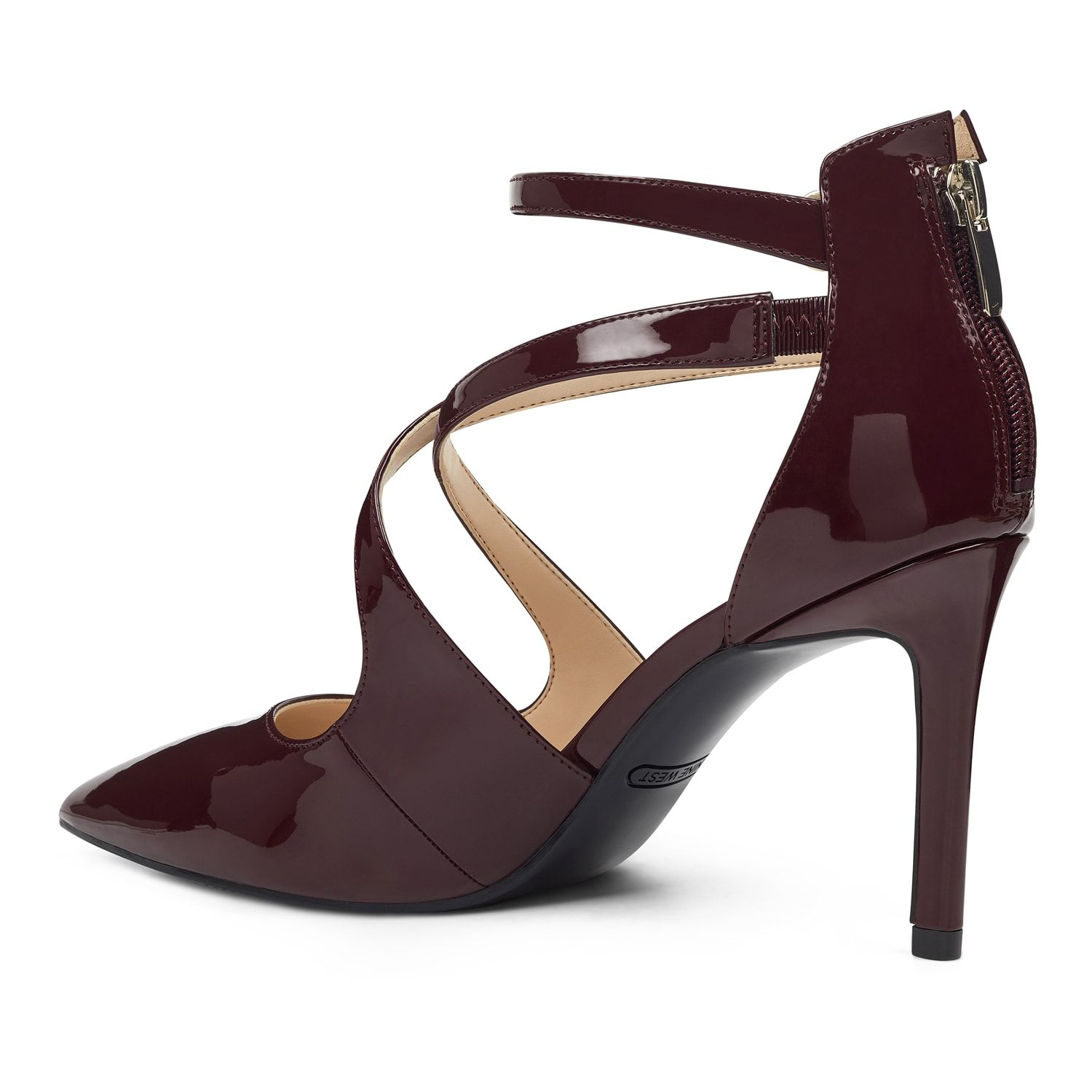 top design ever popular reasonable price Nine West Elilah Women's Strappy High Heels | Strappy high ...