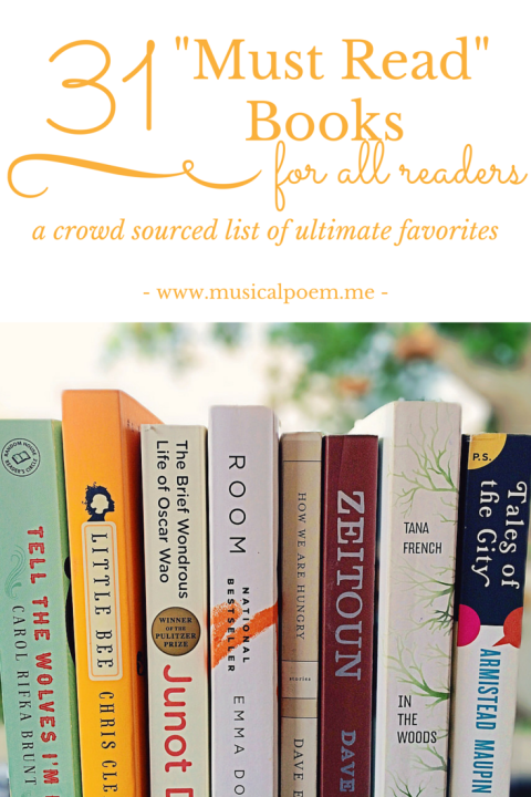 31 Must Read Books A Crowd Sourced List Of Ultimate