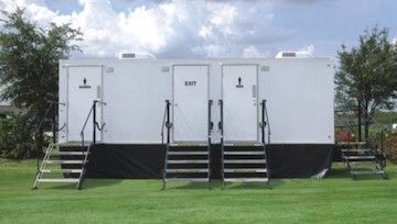 Luxury Restroom Trailers | Naples, Fort Myers, Sarasota, Tampa, Florida    Portable