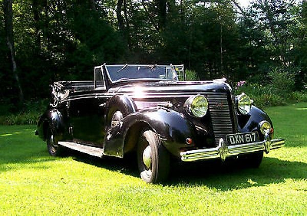 Classic Cars 1925-1948: Buick : Other dual side mounts antique 1937 rare Buick carlton drophead coupe
