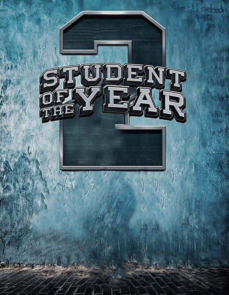 student of the year 2 a in 2019 Hd background download, Picsart