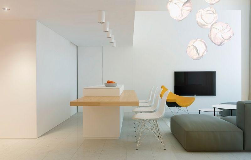 Meubles et décor couleur gris dans 5 appartements modernes Minis