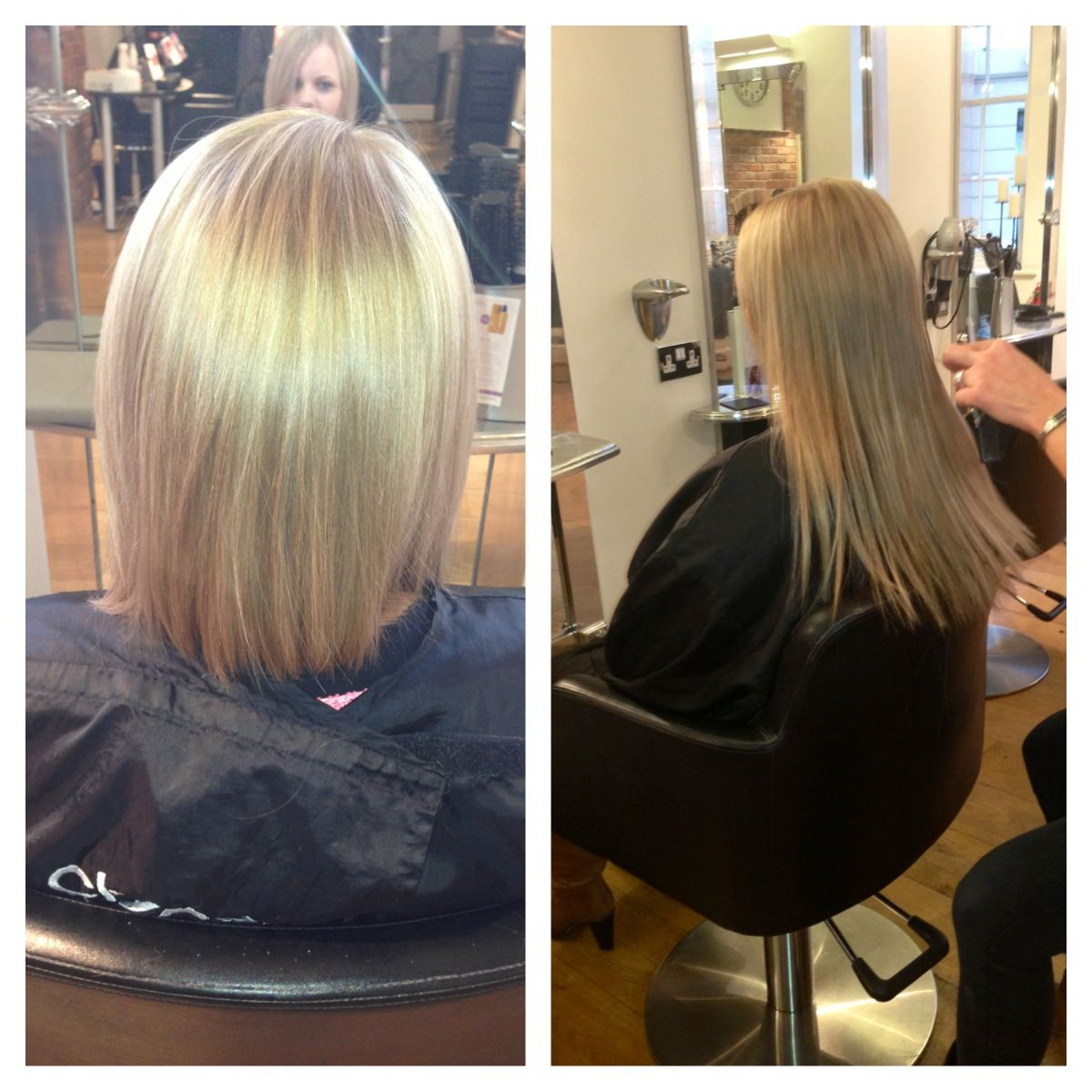 Cinderella Hair Extensions Before After Hairstyles And Color
