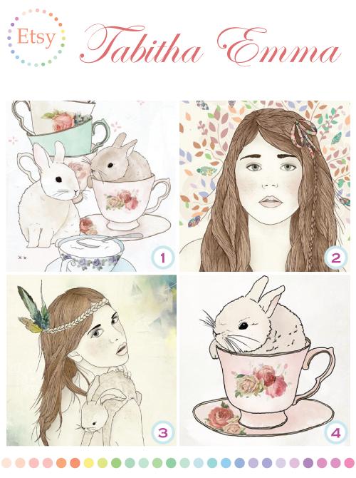 Tabitha Emma illustrations