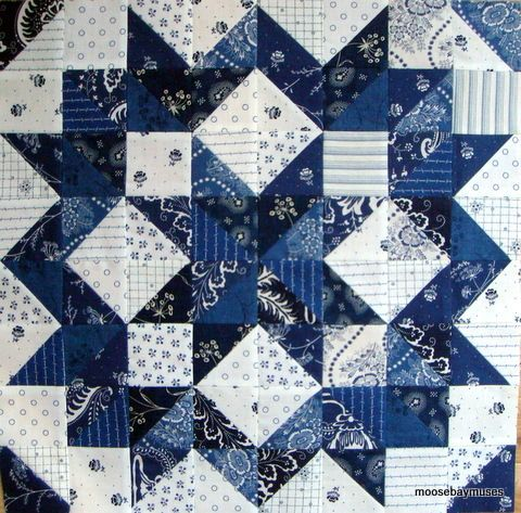 indigo crossing round the stars quilt block - Google Search ... : big star quilt block - Adamdwight.com