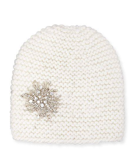 fcf20f5cc77 Embellished Starburst Beanie Hat