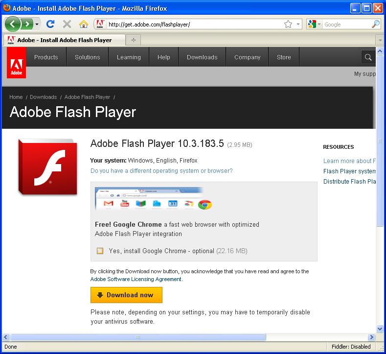 adobe flash player 11 plugin for firefox free download
