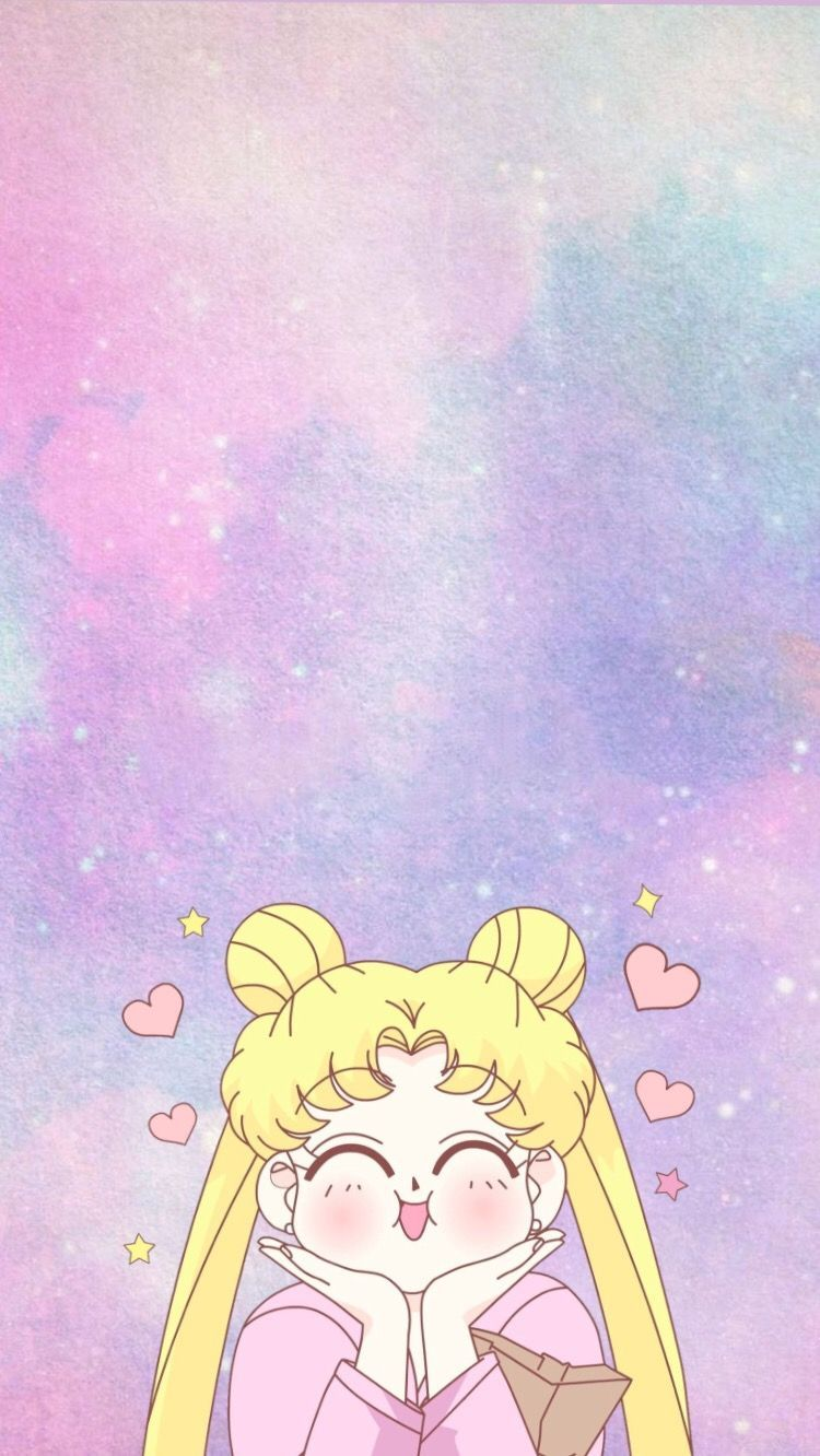 Kawaii Sailor Moon Iphone Wallpaper Ipcwallpapers In 2020 Sailor Moon Wallpaper Sailor Moon Aesthetic Sailor Moon Background