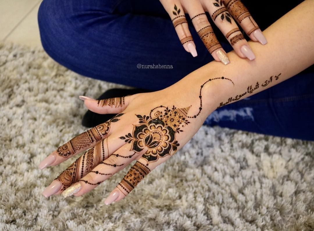 Image May Contain One Or More People Henna Hand Tattoo Henna Henna Designs