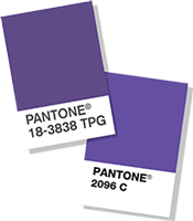 pantone color 2018 pantone farbe des jahres ultra violet color of the year 2018 color chips. Black Bedroom Furniture Sets. Home Design Ideas