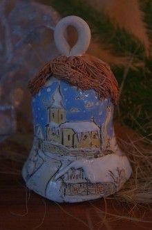 Dekorácie - vianočný zvonček - 6094592_