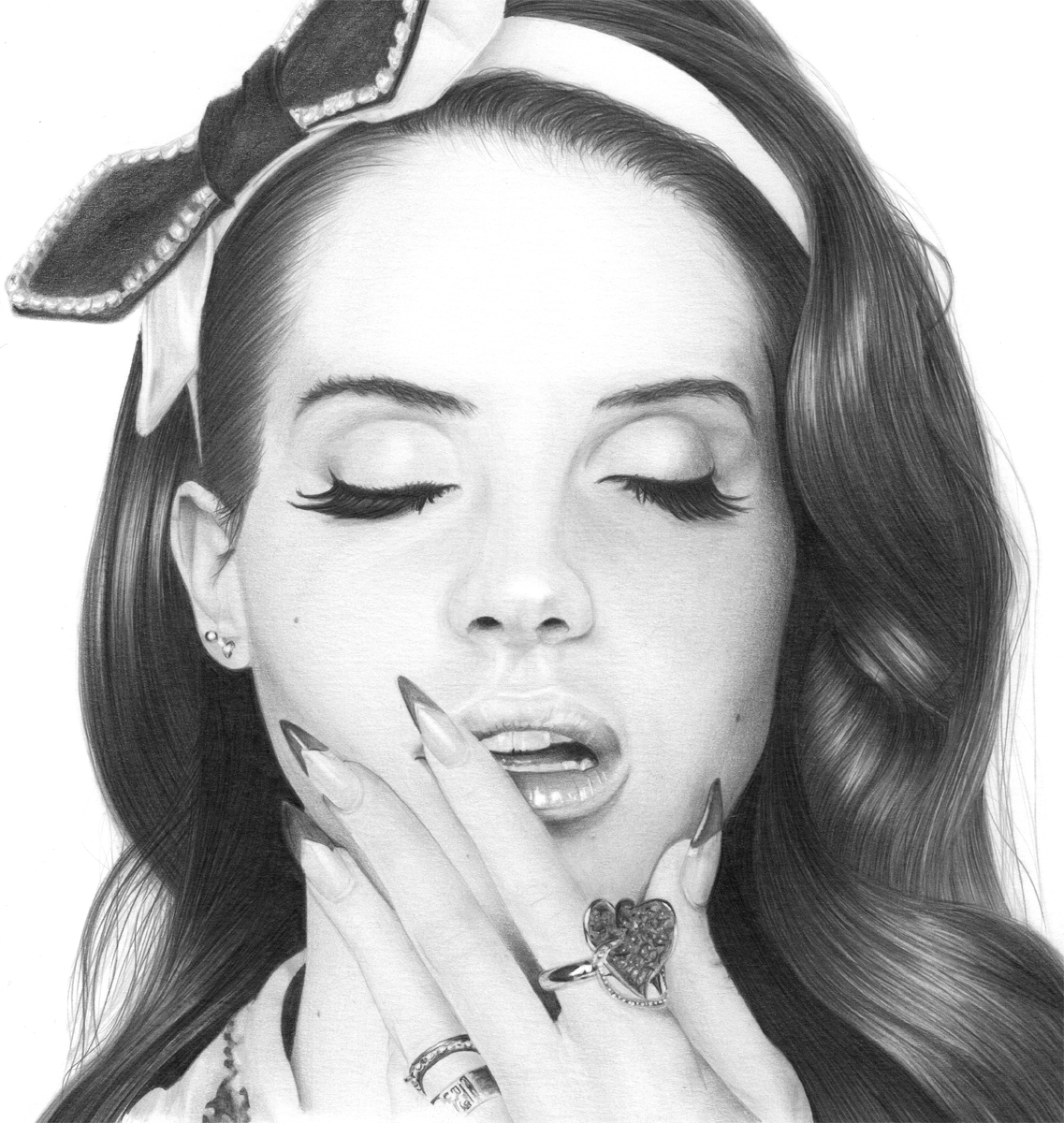 Lana Del Rey Drawing | Cool Art | Pinterest