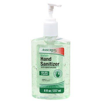 Assured Hand Sanitizer With Aloe 8 Oz Bottle With Images