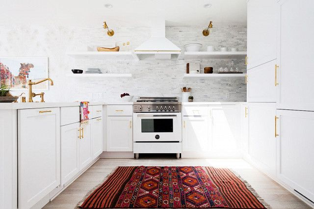How To Make Your Kitchen Look Like A Million Bucks On A Dime Mydomaine Modern Mobile Homes Home Decor Kitchen Home