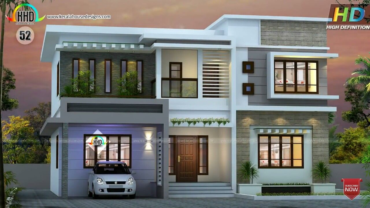 Roof Design Ideas: Flat Roof House, House Roof