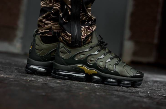 Now Available  Nike Air VaporMax Plus Cargo Khaki The Nike Air VaporMax Plus  is a 0dbe7837e