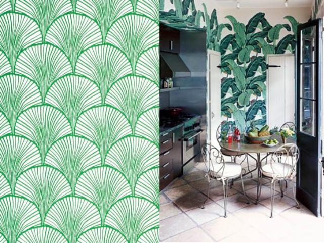20 id es pour une d co exochic les tropiques papier peint et peindre. Black Bedroom Furniture Sets. Home Design Ideas