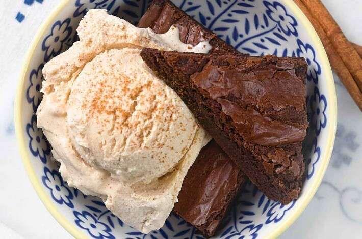 Cinnamon Ice Cream #icecreammachinerecipes