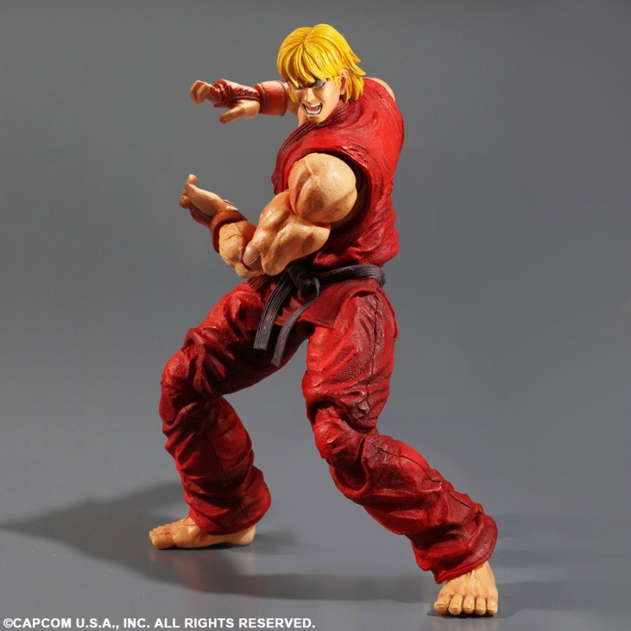 Play Arts Kai Super Street Fighter Iv Ken Masters By Square