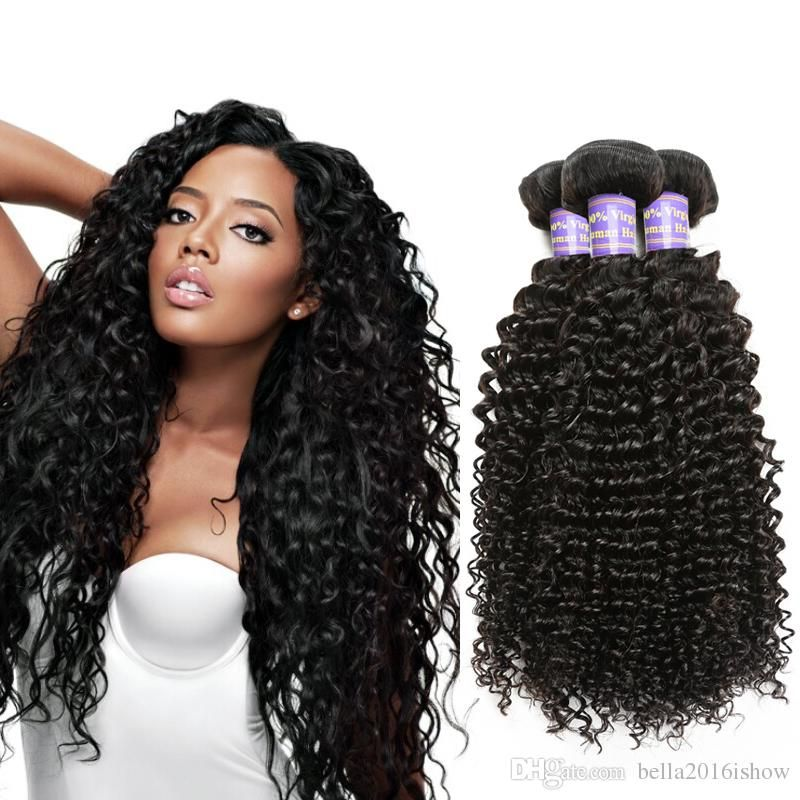 Good Hair Extensions For Brazilian Virgin Hair Kinky Curly Weave For
