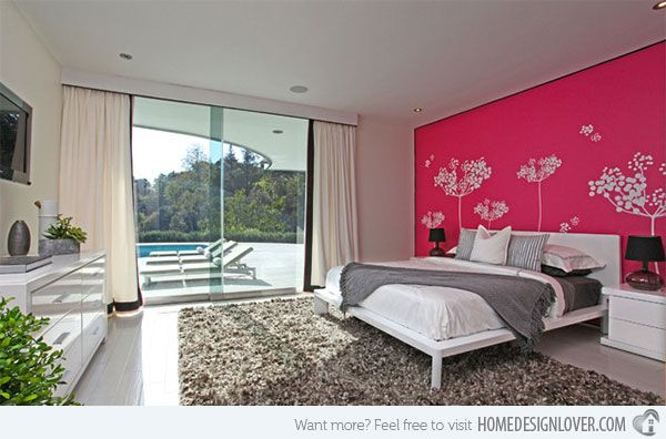 15 Chic and Hot Pink Bedroom Designs | Hot pink bedrooms, Pink ...