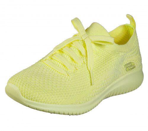 womens yellow skechers