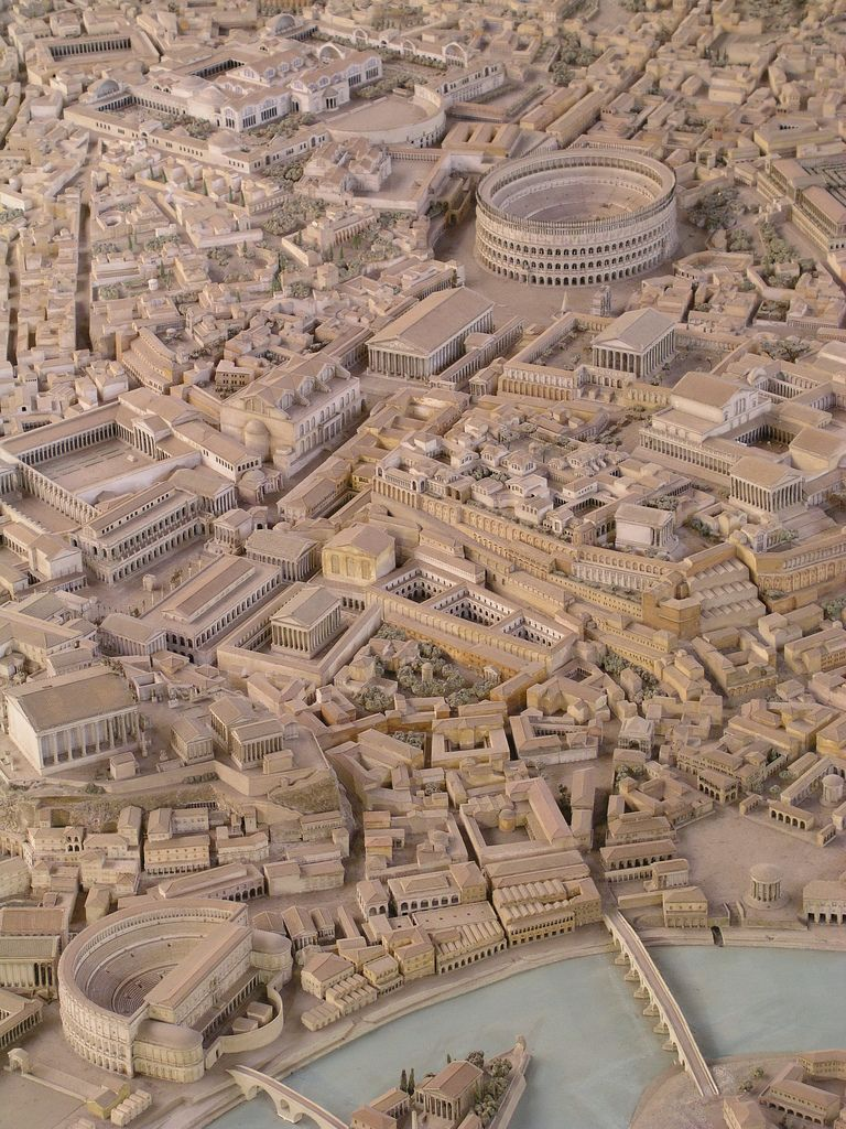 Archeologist Spends Over 35 Years Building Enormous Scale Model Of Ancient Rome Ancient Rome Rome Buildings Rome Architecture