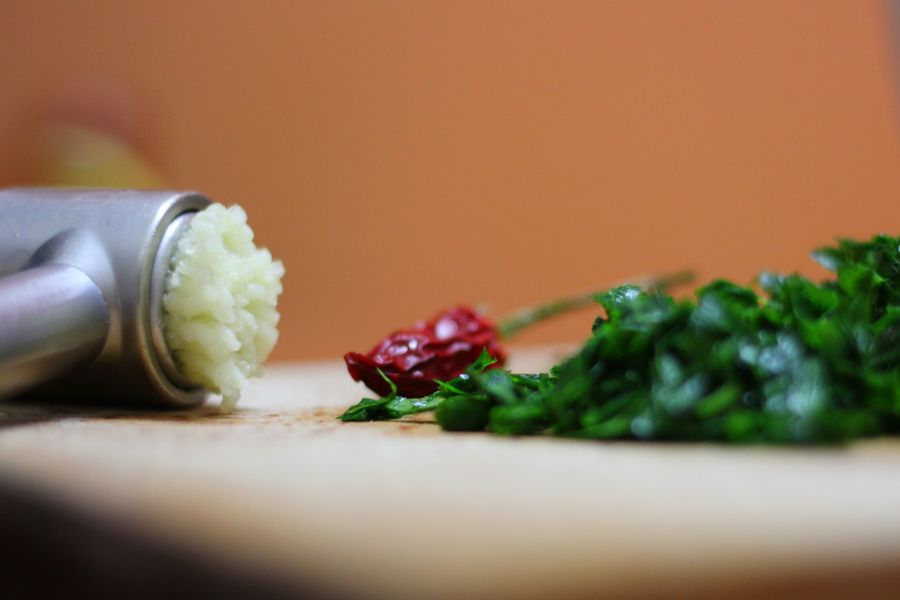 Linguini with SteamedMeatballs..