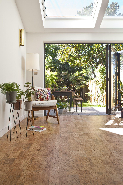 Camada Modern Take On A Classic Parquet Style Cork Flooring
