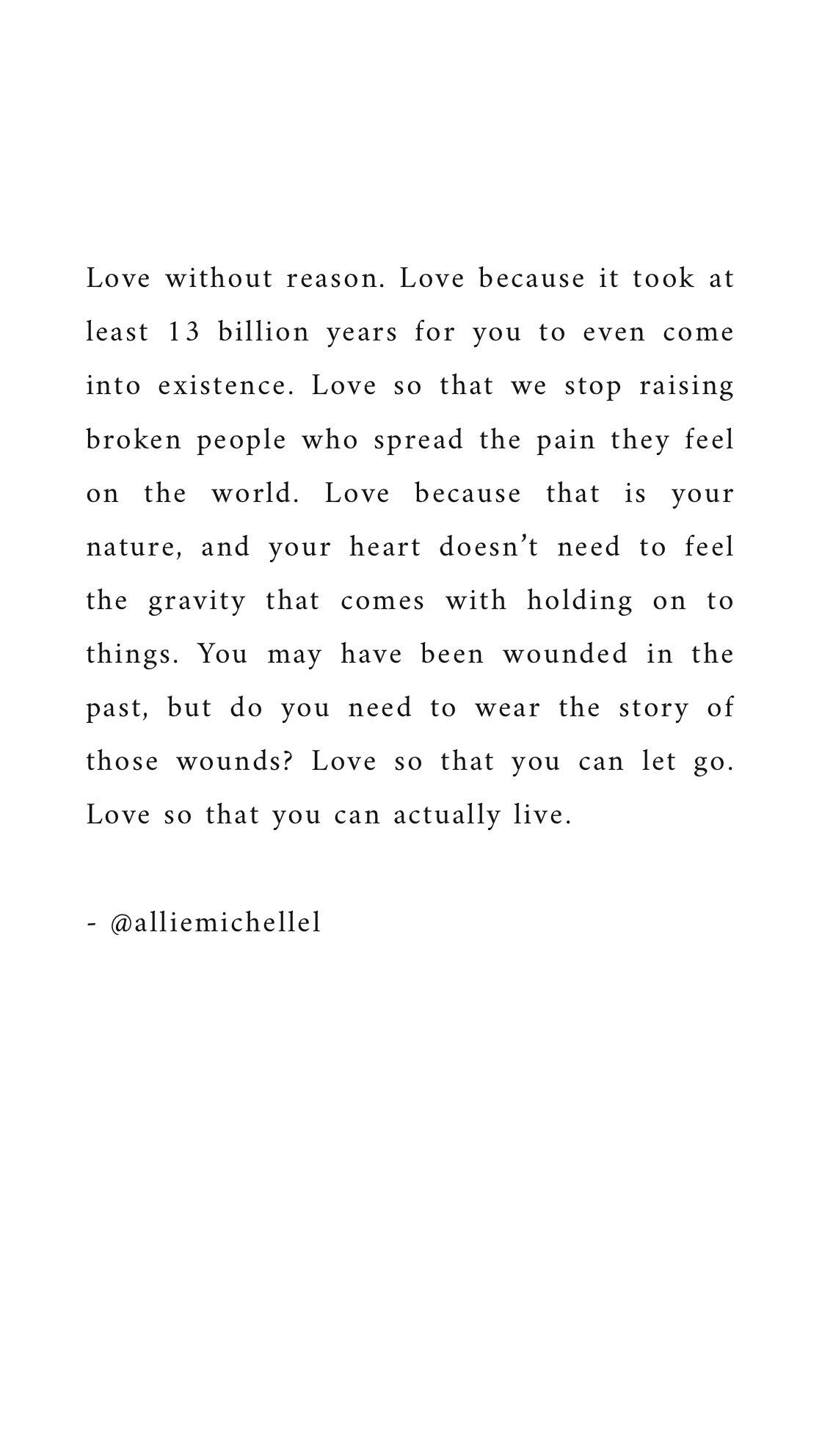 Poetry Selflove Alliemichelle Acceptance