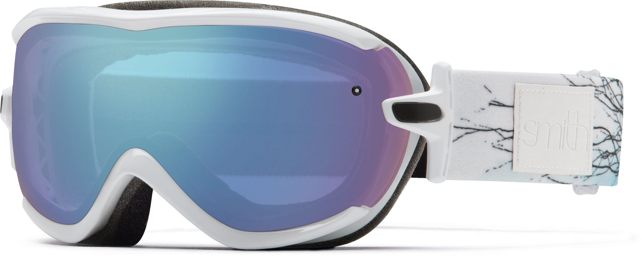 57d361c499d Amazon.com   Smith Optics SO-VR6 Women s Virtue Snow Goggles-(White ...
