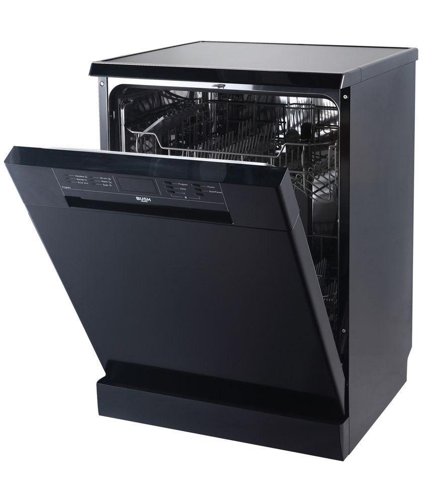 Buy Bush DWFSG126B Full Size Dishwasher - Black at Argos.co.uk ...