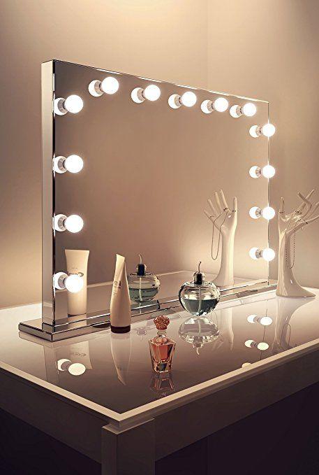 740 Amazon Com Diamond X Mirror Finish Hollywood Makeup Mirror