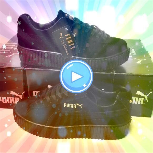 Fenty Siyah Renk Siyah Taban Bayan Spor Ayakkabı Puma Fenty Siyah Renk Siyah Taban Bayan Spor Ayakkabı  Vans Old Skool Platform Skate Shoes BlackBlack Best Shoes Soft col...