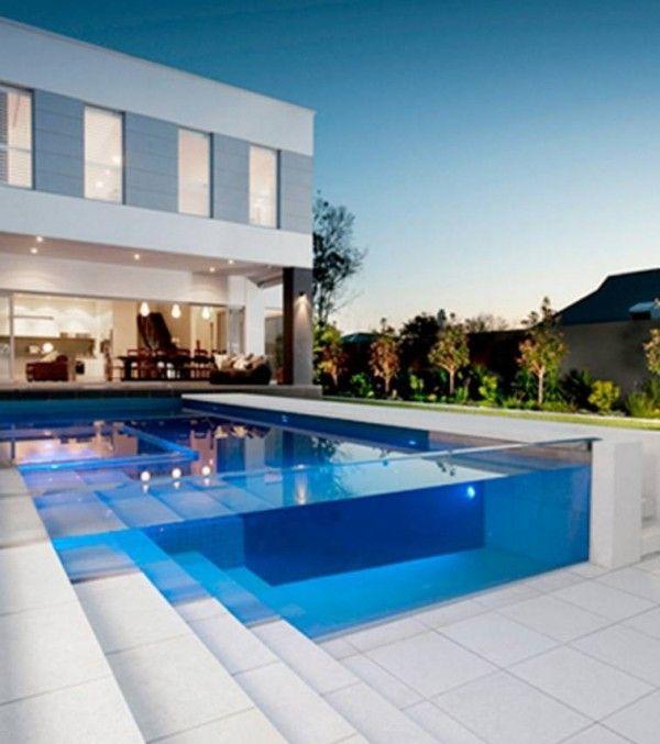 modern swimming pool design   Schwimmbecken, Schwimmbad ...