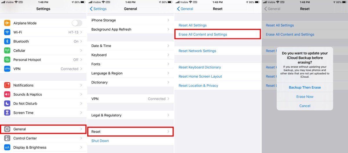 How To Wipe An Iphone Ipad And Mac Wipes Iphone Ipad