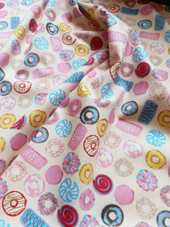 Per Metre 100/% COTTON Poplin Cute Baby Blue OWL Design Nursery Quilting Crafts