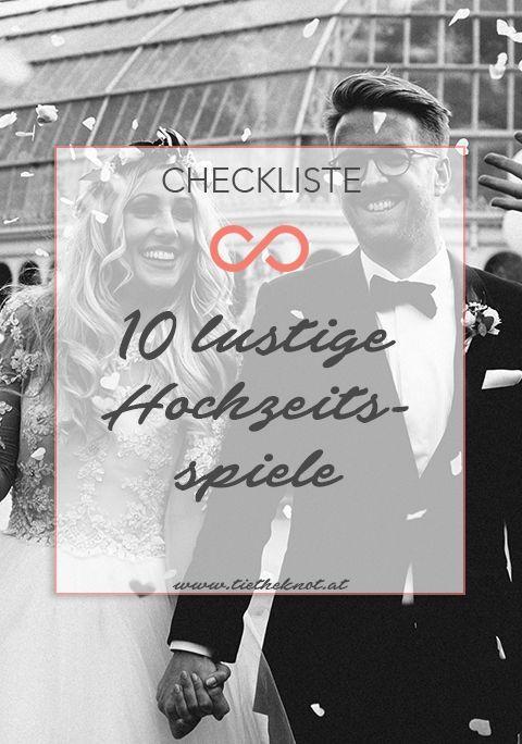 Spiel Spaß 10 Lustige Hochzeitsspiele Für Brautpaar Und